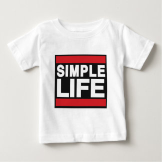 simple life red.png baby T-Shirt