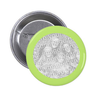 simple light green photo frame button