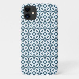Simple lily pattern iPhone 11 case
