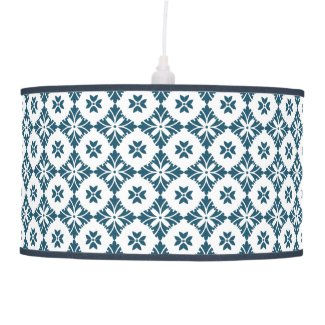 Simple lily pattern ceiling lamp