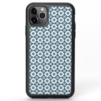 Simple lily pattern OtterBox symmetry iPhone 11 pro max case