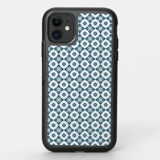 Simple lily pattern OtterBox symmetry iPhone 11 case
