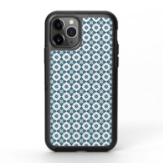 Simple lily pattern OtterBox symmetry iPhone 11 pro case