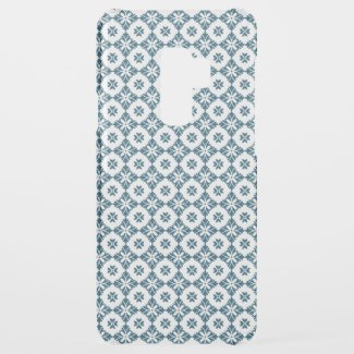 Simple lily pattern uncommon samsung galaxy s9 plus case