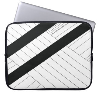 Simple Line Design Laptop Sleeve