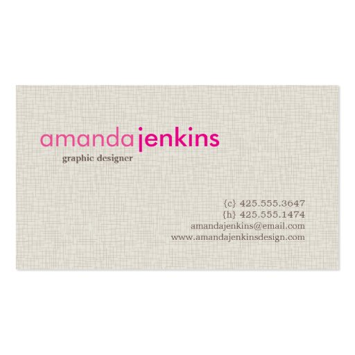 Calling card business card templates page35 bizcardstudio for Simple business card template