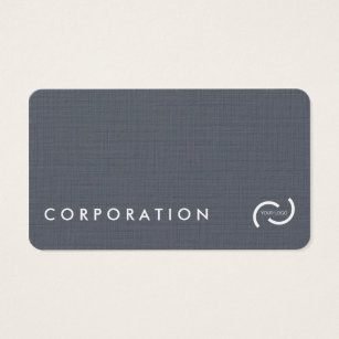 White linen business cards templates zazzle simple linen texture business cards white back business card reheart Gallery