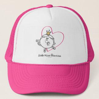 Simple Little Miss Princess | Pink Heart Trucker Hat