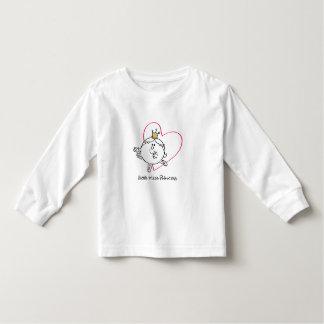 Simple Little Miss Princess | Pink Heart T Shirt