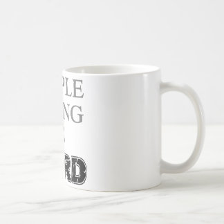 Simple Living Is Hard Coffee Mug