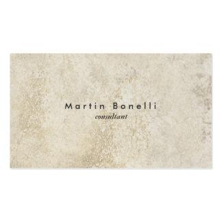 Simple llano minimalista moderno único de la pared tarjetas de visita