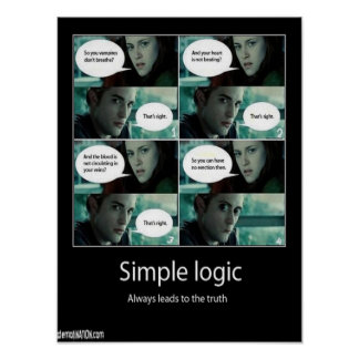 Simple Logic Poster