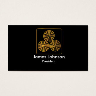 Simple Logo Business Card Template