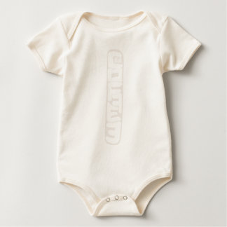 Simple Long Coffee Meter Thermometer Caffeine Love Baby Bodysuit
