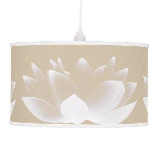 Simple Lotus Flowers Ceiling Lamp