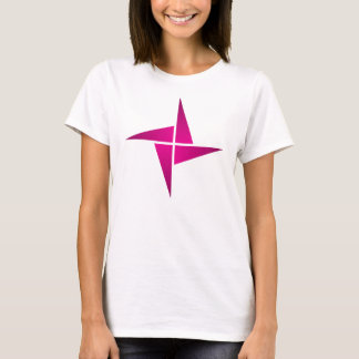 Simple Magenta Pinwheel T-Shirt