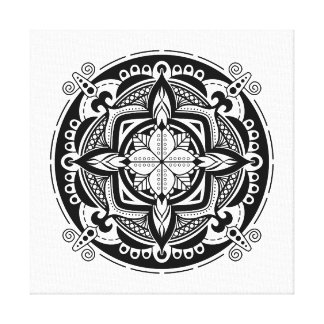 Simple Mandala 5 Canvas Print