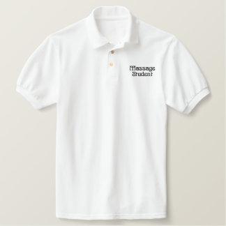 Simple Massage Student Polo Shirt