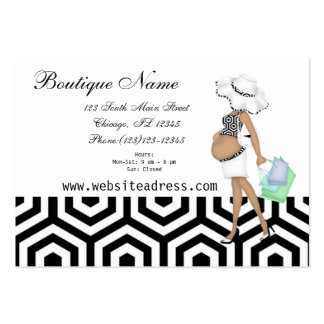 Simple Maternity Business Card