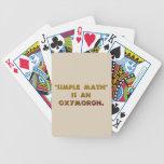 Simple Math is an Oxymoron Card Decks