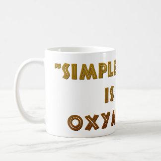 Simple Math is an Oxymoron Coffee Mug