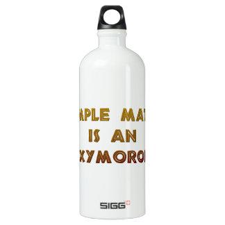 Simple Math is an Oxymoron Water Bottle