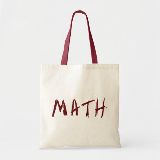 Simple Math Tote Bag