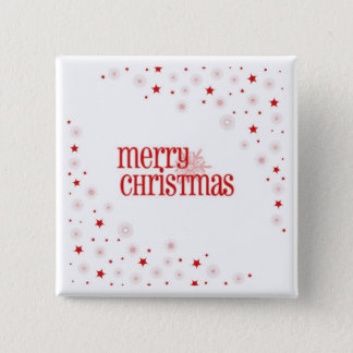 Simple Merry Christmas Button