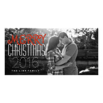 Simple Merry Christmas Photo Card