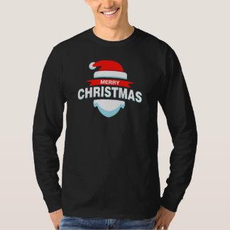 Simple Merry Christmas Santa   Sleeve Shirt