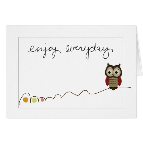 Simple Message Cards card