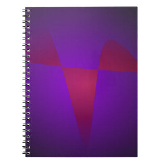 Simple Minimalism Abstract Notebook