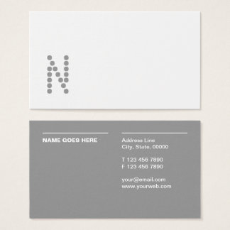 Simple Minimalist Professional Business Cards