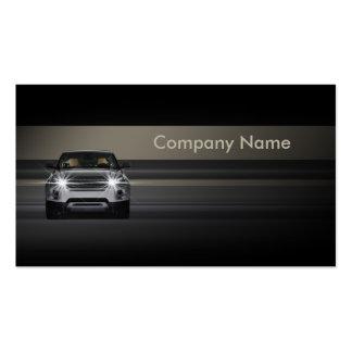 Simple Minimalistic Line Car Business Card
