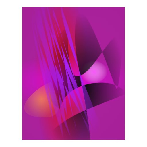 Simple Misty Abstract Balance Art Custom Flyer