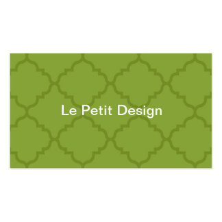 Simple, modern and minimal No 1 business card