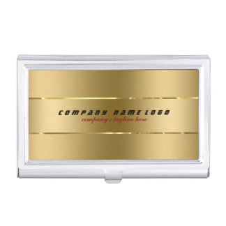 stainless business card holders cases zazzle