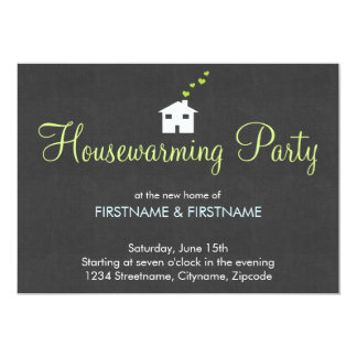 Simple Modern Housewarming Party Invitations