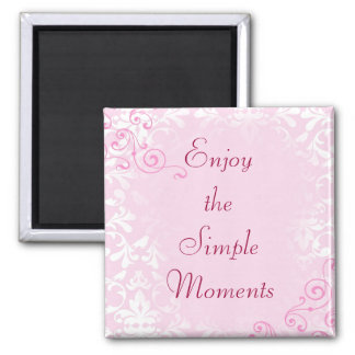 Simple Moments Quote Magnet
