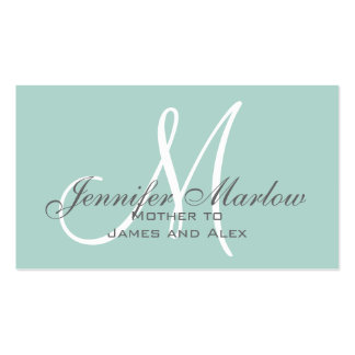 Simple Mommy Calling Card Double-Sided Standard Business Cards (Pack Of 100)
