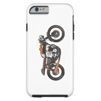 Simple Motorcycle - Cafe Racer 750 Tough iPhone 6 Case