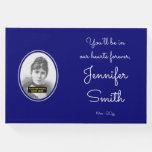 [ Thumbnail: Simple & Mournful Memorial Guest Book ]