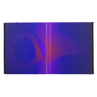 Simple Navy Abstract Painting iPad Case