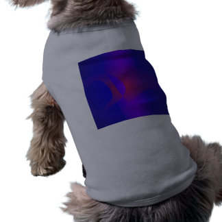 Simple Navy Abstract Painting Dog Clothes