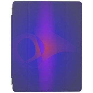 Simple Navy Abstract Painting iPad Cover