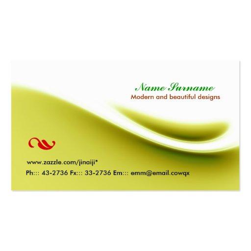 simple nice business card