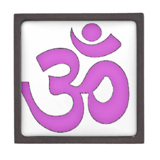 simple om,aum,sanskrit, mantra, yoga, tantra gift box