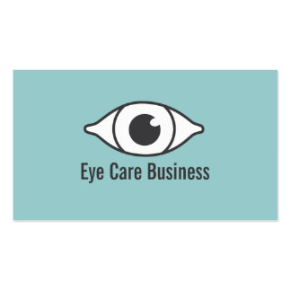 Simple Optometrist & Eye Specialist Business Card