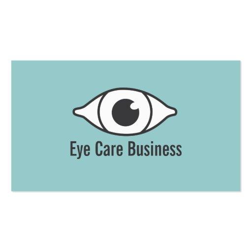 Simple optometrist eye specialist business card zazzle for Optometrist business card