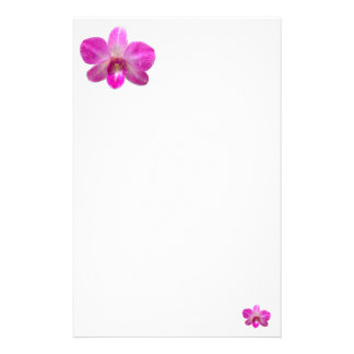 Simple Orchid Stationery